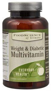 FoodScience of Vermont Weight & Diabetic Multivitamin -- 90 Caplets   Comprar Suplemento em Promoção Site Barato e Bom