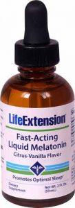 Life Extension Fast-Acting Liquid Melatonin Citrus-Vanilla -- 2 fl oz   Comprar Suplemento em Promoção Site Barato e Bom