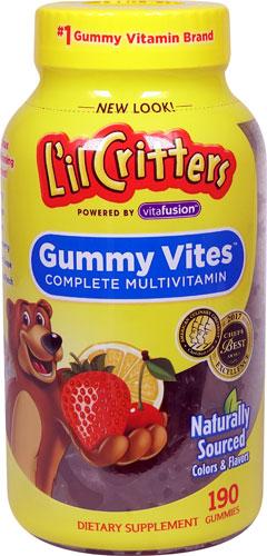 L'il Critters Gummy Vites™ Complete Assorted Fruit -- 190 Gummy Bears   Comprar Suplemento em Promoção Site Barato e Bom