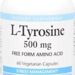 Natural Factors L-Tyrosine -- 500 mg - 60 Vegetarian Capsules   Comprar Suplemento em Promoção Site Barato e Bom