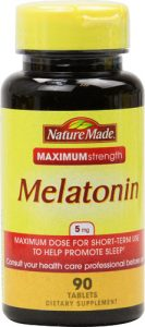 Nature Made Maximum Strength Melatonin -- 5 mg - 90 Tablets   Comprar Suplemento em Promoção Site Barato e Bom