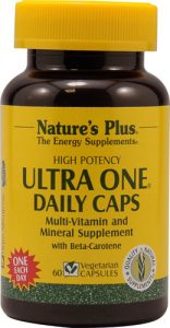 Nature's Plus Ultra One® Daily Caps -- 60 Vegetarian Capsules   Comprar Suplemento em Promoção Site Barato e Bom