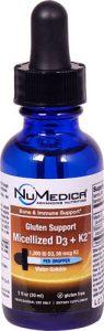NuMedica Gluten Support Micellized D3 plus K2™ -- 1 fl oz   Comprar Suplemento em Promoção Site Barato e Bom