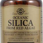 Solgar Oceanic Silica from Red Algae -- 100 Vegetable Capsules   Comprar Suplemento em Promoção Site Barato e Bom