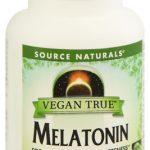 Source Naturals Vegan True™ Melatonin -- 3 mg - 60 Vegetarian Capsules   Comprar Suplemento em Promoção Site Barato e Bom