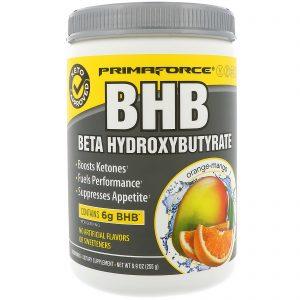 Primaforce, BHB, Beta-Hidroxibutirato, Laranja e Manga, 8,9 oz (255 g)   Comprar Suplemento em Promoção Site Barato e Bom