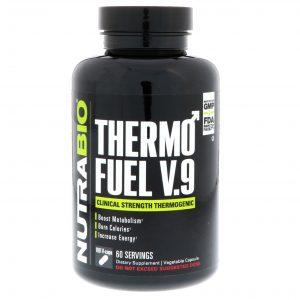 NutraBio Labs, ThermoFuel V9 for Men,180 Vegtable Capsules   Comprar Suplemento em Promoção Site Barato e Bom