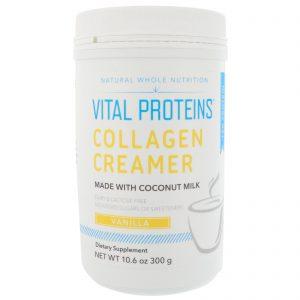 Vital Proteins, Creme de colaágeno, baunilha, 10,6 oz (300 g)   Comprar Suplemento em Promoção Site Barato e Bom