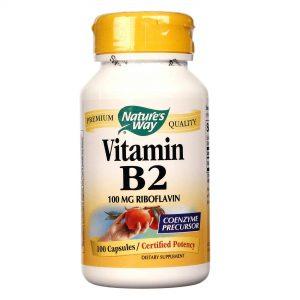 Nature's Way A vitamina B-2 100 mg 100 Cápsulas   Comprar Suplemento em Promoção Site Barato e Bom