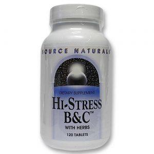 Source Naturals Oi-Estresse B & C 120 Tabletes   Comprar Suplemento em Promoção Site Barato e Bom