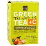 Sencha Naturals, Citrus Ginger Green Tea +C Packets, 10 ct   Comprar Suplemento em Promoção Site Barato e Bom