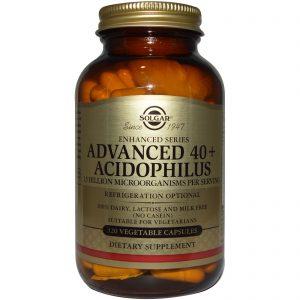 Solgar, Avançado 40+Acidophilus, 120 Cápsulas   Comprar Suplemento em Promoção Site Barato e Bom