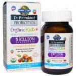 Garden of Life, Dr. Formulated Probiotics, Organic Kids +, 30 Deliciosos Mastigáveis   Comprar Suplemento em Promoção Site Barato e Bom