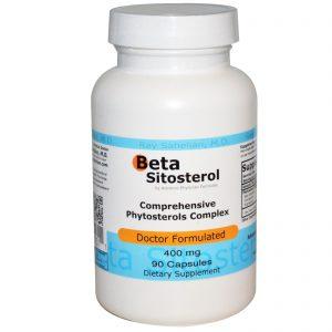 Advance Physician Formulas, Inc., Beta-sitosterol, 400 mg, 90 cápsulas   Comprar Suplemento em Promoção Site Barato e Bom