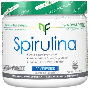 NovaForme, Spirulina, Certified USDA Pure Organic Spirulina, 5.29 oz (150 g)   Comprar Suplemento em Promoção Site Barato e Bom