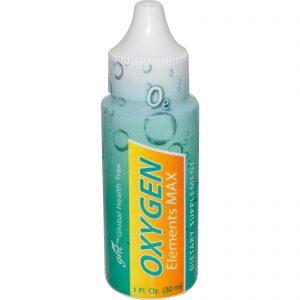 Global Health Trax, Oxygen Elements Max, frasco de 1 oz (30 ml)   Comprar Suplemento em Promoção Site Barato e Bom