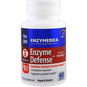 Enzymedica, Enzyme Defense, 60 Cápsulas   Comprar Suplemento em Promoção Site Barato e Bom