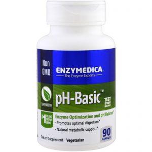 Enzymedica, pH-Basic, 90 Cápsulas   Comprar Suplemento em Promoção Site Barato e Bom