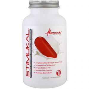Metabolic Nutrition, Stimukal, Poderosa solução para perda de peso, 45 Cápsulas   Comprar Suplemento em Promoção Site Barato e Bom