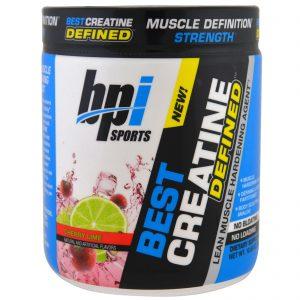 BPI Sports, Creatina Definida, Agente Enrijecedor de Músculos, Cereja e Limão, 10,58 oz (300 g)   Comprar Suplemento em Promoção Site Barato e Bom
