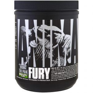 Universal Nutrition, Fúria Animal, Pilha completa do pré-treino, Maçã Verde, 330,6 g   Comprar Suplemento em Promoção Site Barato e Bom