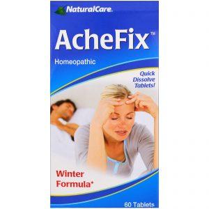 Natural Care, AcheFix, 60 Comprimidos   Comprar Suplemento em Promoção Site Barato e Bom