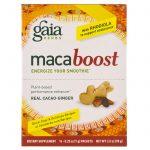 Gaia Herbs, MacaBoost, Cacau e Gengibre de Verdade, 14 Pacotinhos, 7 g Cada   Comprar Suplemento em Promoção Site Barato e Bom