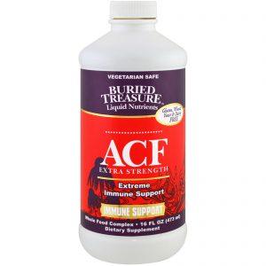 Buried Treasure, ACF Extra Strength, Extreme Immune Support, 16 fl oz (473 ml)   Comprar Suplemento em Promoção Site Barato e Bom