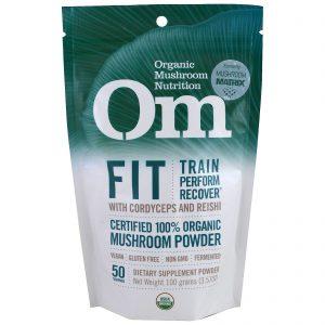 Organic Mushroom Nutrition, Em Forma, Pó de Cogumelo, 100 g   Comprar Suplemento em Promoção Site Barato e Bom