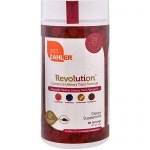 Zahler, Revolution, Fórmula Completa para o Trato Urinário, 180 g   Comprar Suplemento em Promoção Site Barato e Bom
