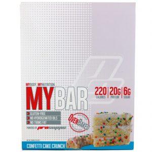 ProSupps, My Bar, Confete de Bolo Crocante, 12 Barras, 23,30 oz (660 g)   Comprar Suplemento em Promoção Site Barato e Bom