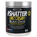Muscletech, #Shatter, SX-7, Ônix preto, pré-treino, Icy Rocket Freeze, 12,15 onças (345 g)   Comprar Suplemento em Promoção Site Barato e Bom