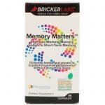 Bricker Labs, Memory Matters, 60 Cápsulas   Comprar Suplemento em Promoção Site Barato e Bom