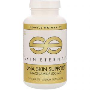 Source Naturals, Skin Eternal, apoio de DNA para a pele, 500 mg, 240 comprimidos   Comprar Suplemento em Promoção Site Barato e Bom
