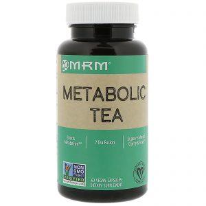 MRM, Metabolic Tea, 60 Vegan Capsules   Comprar Suplemento em Promoção Site Barato e Bom
