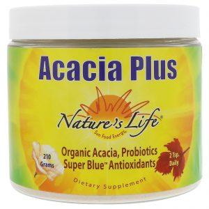 Nature's Life, Acacia Plus, Canela Mel Limão, 210 g   Comprar Suplemento em Promoção Site Barato e Bom