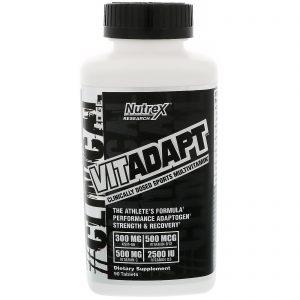 Nutrex Research Labs, Vitadapt, 90 Comprimidos   Comprar Suplemento em Promoção Site Barato e Bom
