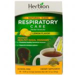 Herbion, Cuidado Natural, Cuidado Respiratório, Grânulos Herbáceos, Sabor Limão, 10 Sachês, 5,4 g Cada   Comprar Suplemento em Promoção Site Barato e Bom