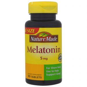 Nature Made, Melatonina, 5 mg, 90 Comprimidos   Comprar Suplemento em Promoção Site Barato e Bom