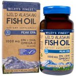 Wiley's Finest, Óleo de Peixe Wild Alaskan, Pico EPA, 1250 mg, 60 Cápsulas em gel formato de peixe   Comprar Suplemento em Promoção Site Barato e Bom