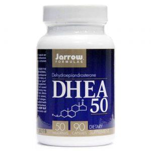 Jarrow Formulas DHEA - 50 mg - 90 Cápsulas   Comprar Suplemento em Promoção Site Barato e Bom