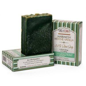 Shea Terra Orgânicos Shea Soap, Baunilha De Menthe De Marraquexe - 4 oz   Comprar Suplemento em Promoção Site Barato e Bom