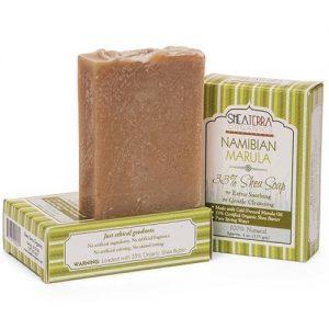 Shea Terra Orgânicos Shea Soap, Marula namibiana - 4 oz   Comprar Suplemento em Promoção Site Barato e Bom