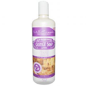 Mill Creek Old Fashioned Pure Castile Soap, Lavanda - 16 fl oz   Comprar Suplemento em Promoção Site Barato e Bom