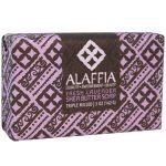 Alaffia Triple Milled Soap, Manteiga de karité de lavanda fresca - 5 oz   Comprar Suplemento em Promoção Site Barato e Bom