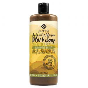 Alaffia Authentic Preto Soap, Sem sabor - 32 oz   Comprar Suplemento em Promoção Site Barato e Bom