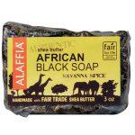 Alaffia Authentic African Preto Bar Soap, Savanna Spice - 3 oz   Comprar Suplemento em Promoção Site Barato e Bom