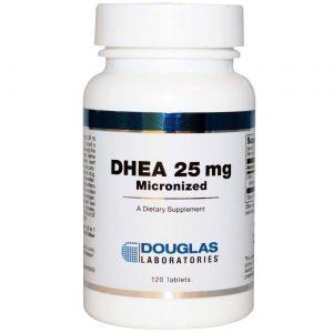 Douglas Labs DHEA - 25 mg - 120 Tabletes   Comprar Suplemento em Promoção Site Barato e Bom