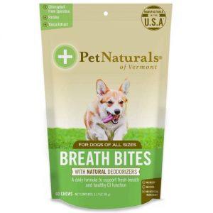 Pet Naturals of Vermont Breath Bites - 60 Chews   Comprar Suplemento em Promoção Site Barato e Bom