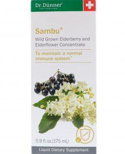 Dr. Dunner, USA, Sambu, Wild Grown Elderberry and Elderflower Concentrate, 5.9 fl oz (175 ml)   Comprar Suplemento em Promoção Site Barato e Bom
